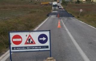 Akçaova yolunda güvenlik ön planda