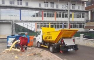 Darıca'da çöp taksiler hizmete başladı