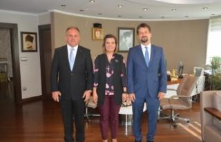 Macaristan Büyükelçisi'nden Başkan Hürriyet'e...