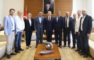 Moldova İstanbul Başkonsolosu'ndan Kocaeli Ticaret...