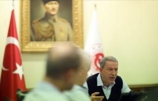 Bakan Akar, Fransa Savunma Bakanı Parly İle Görüştü