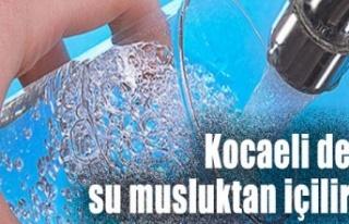 """""""Kocaeli'de SU çeşmeden gönül rahatlığı..."""
