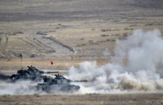 """MSB : """"Şanlı Ordumuz Güvenli Bölge Harekatı..."""