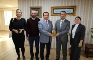 Yaşar Çakmak, Sivil Toplum Kuruluşları'nı misafir...