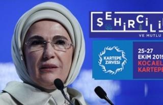 Zirve'de açılışı Emine Erdoğan yapacak