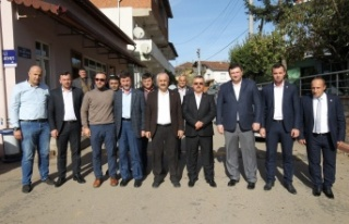 Başkan Büyükgöz Köyleri Turladı