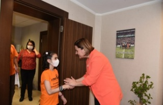 LÖSEV'den Başkan Hürriyet'e Ziyaret