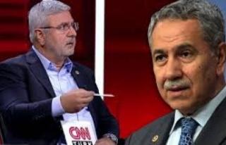 Mehmet Metiner, Arınç'a ateş püskürdü:...