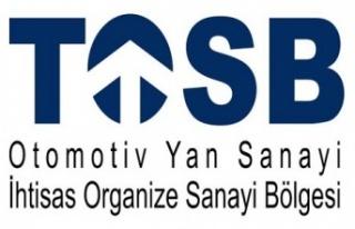 Otomotiv sektörünün üst düzey yöneticileri TOSB'da...