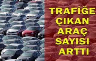 Trafiğe Kaydı Yapılan Araç Sayısı Yüzde 34...