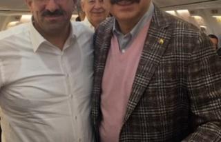 Başkan Bulut, Hisarcıklıoğlu ile birlikte Berlin...