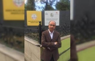 Mustafa Ercan, 35 yıl sonra Mezun olduğu okulda