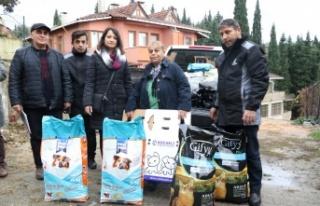 Büyükşehir belediyesinden STK'lara mama desteği