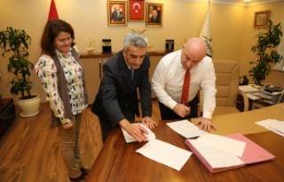 Darıca Belediyesi, Tapu Müdürlüğü ile protokol...