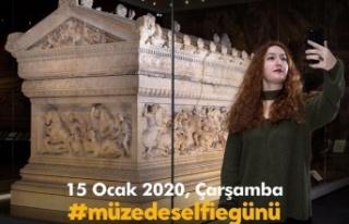 Kültür ve Turizm Bakanlığından Müzede Selfie...