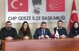 CHP'nin Gebze delegeleri toplandı