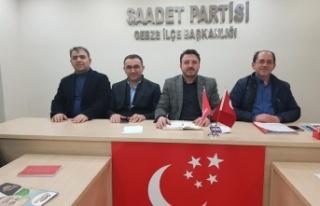 Mustafa  Türel  ilk toplantısını yaptı