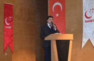 Saadet Gebze'de yeni başkan Mustafa Türel