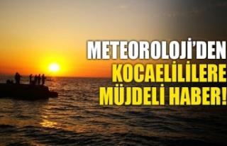 Soğuk hava Kocaeli'yi terk ediyor