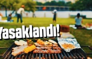 Mangal ve piknik yapmak yasaklandı!
