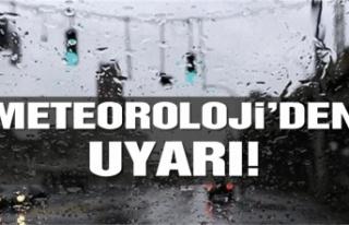 Meteorolojiden  Yağmur Alarmı