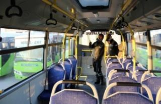 Toplu taşıma araçlarında virüs ve mikroplara...
