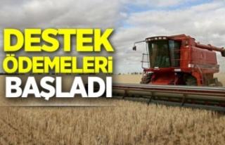 Çiftçiye Ödeme Desteği başladı
