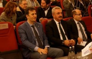 Haluk Görgün, GTO Meclis toplantısına misafir...