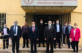 İl Sağlık Müdürü Şenol Ergüney'den, Gebze'ye...