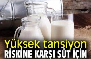 Yüksek Tansiyona Karşı Süt !