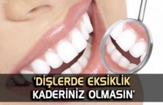 Diş eksikliği Kaderiniz olmasın