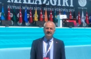 Başkan Büyükgöz ve Gebze heyeti Malazgirt Zaferi...