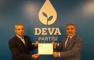 DEVA Darıca'da İlçe başkanı Muhammet Ali...