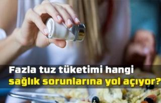 Fazla Tuz Tüketimi Hangi Sağlık Sorunlarına Yol...