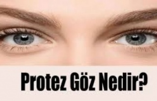 Türkiye'ye her yıl yüzlerce kişi göz protezi...