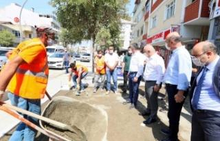 Başkan Büyükakın, ''Aşıroğlu Caddesi'nde...