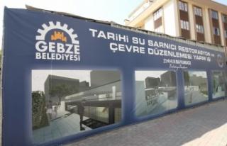 Gebze'de Tarihi Sarnıç Restore Ediliyor