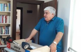 Türkiye-Azerbaycan Dernekler Federasyonuna katılımlar...
