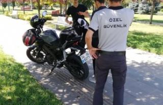 Yaya yollarına giren motosikletlere sıkı denetim