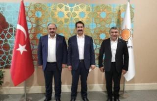 Başkan Şayir'den Ankara temasları