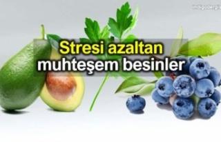 Stresi azaltan mucizevi besinler