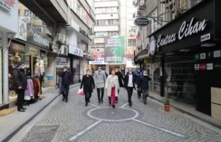 Fethiye Caddesi yenileme çalışmalarında ilk adım...