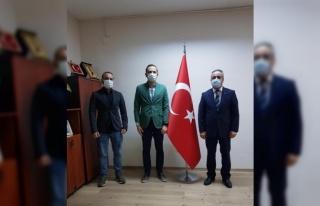 AA Bursa Bölge Müdürü Aksoy, Bursa Ticaret İl...