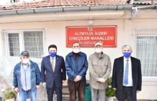 Altıeylül Belediye Başkanı Avcı, mahalle muhtarlarıyla...