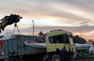 Anadolu Otoyolu'nda iki kişinin yaralandığı zincirleme...