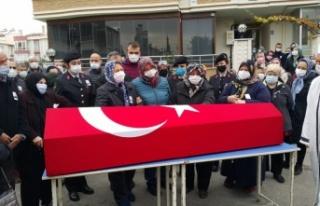 Ankara'da vefat eden Uzman Çavuş Tufan Sayacı,...