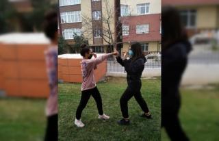 Bağcılar Belediyesi Wushu Kung-fu takımı sporcuları,...