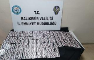 Balıkesir'de uyuşturucu operasyonlarında 2 kişi...