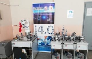 BEBKA'dan Bilecik'te eğitime laboratuvar desteği