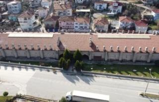 Bilecik'teki Köprülü Mehmet Paşa Kervansarayı...